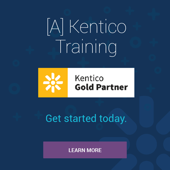 [A] Offers Kentico Training